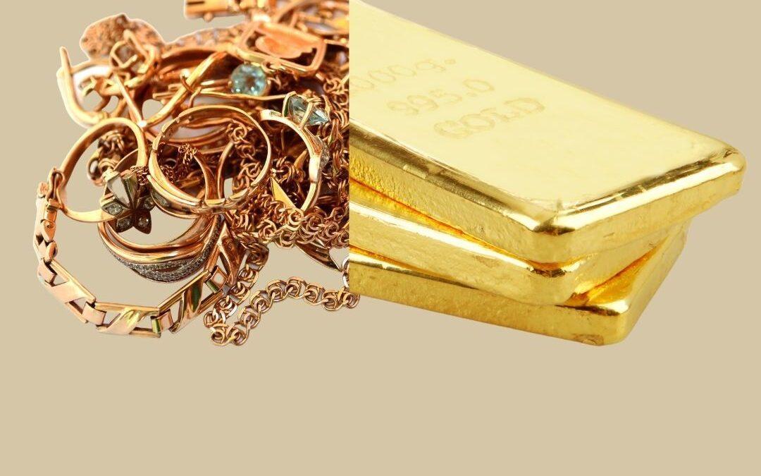 Tausche Schmuck gegen Anlagegold